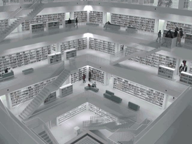 These Modern Libraries Look Like Alien Spaceships On The Inside