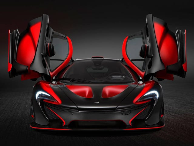 This Has To Be The Craziest McLaren P1 Yet