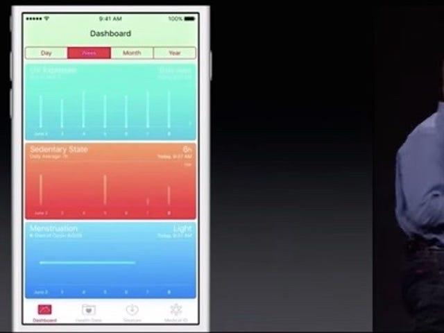 IOS 9 HealthKit di Apple terrà infine traccia dei cicli mestruali