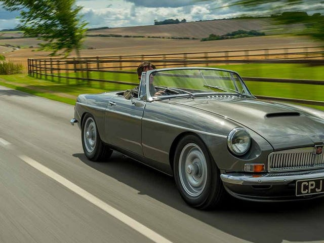 How About A Brand New 1960s British Roadster That's Fast And Reliable?