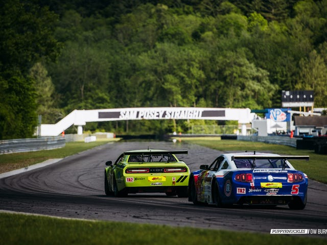 Trans Am Racing At Lime Rock, And Miatas Too