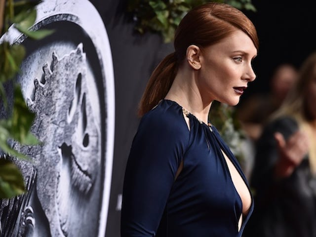 Bryce Dallas Howard Spends Jurassic World Running in Heels. As One Does