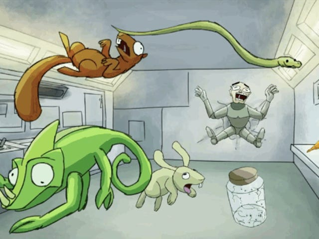 Ang Cartoon Tungkol sa Mga Hayop na Loose On A Space Station Ay Gumagawa sa Kami Giggle