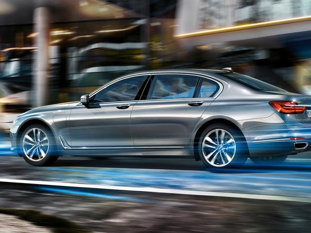 All The Interesting New Technology On The 2016 BMW 7-Series