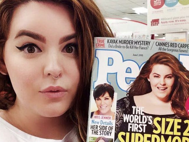 Plus Size Supermodel Tess Holliday Sorry for Saying 'Black Men Love Me'