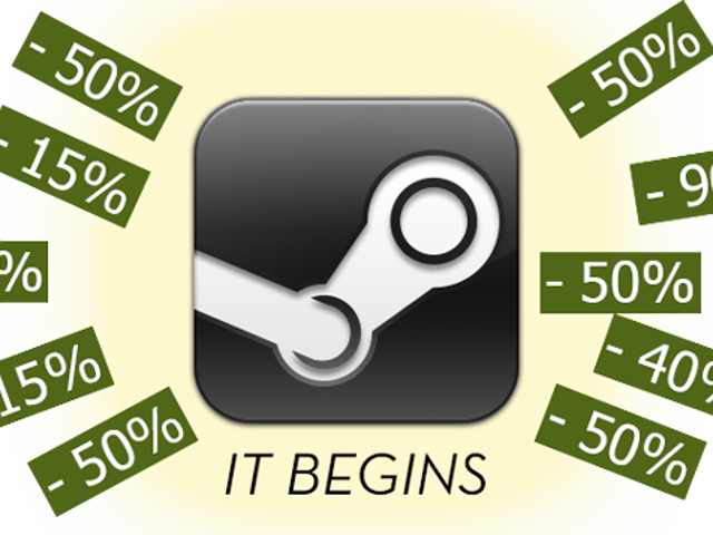 The Steam Summer Sale Starts Now
