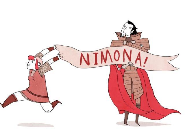 Webcomic Nimona анімовані адаптації!  Так Так Так!