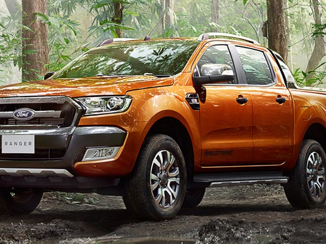 2015 Ford Ranger Wildtrak: Det här är den nya toppen av linjen