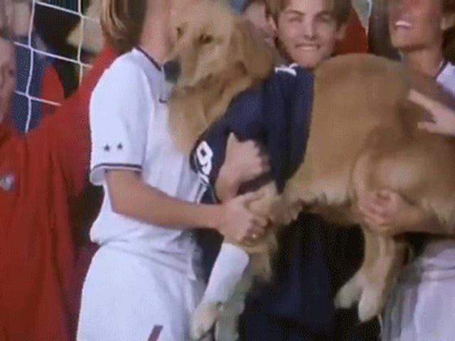That time Air Bud helped the U.S. win the Women's World Cup