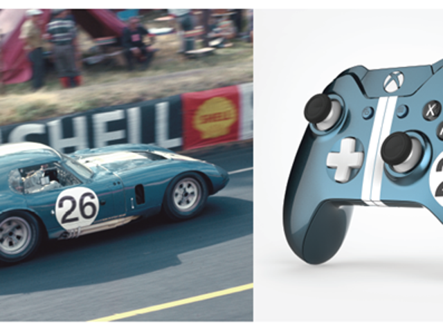 Xbox One commemorates FORD LeMans Accomplishments