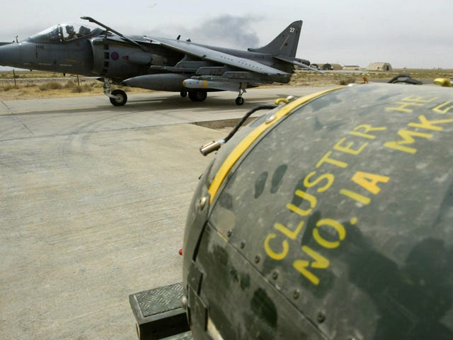 Pentagon Replacing Cluster Bombs With Something Far Less Controversial