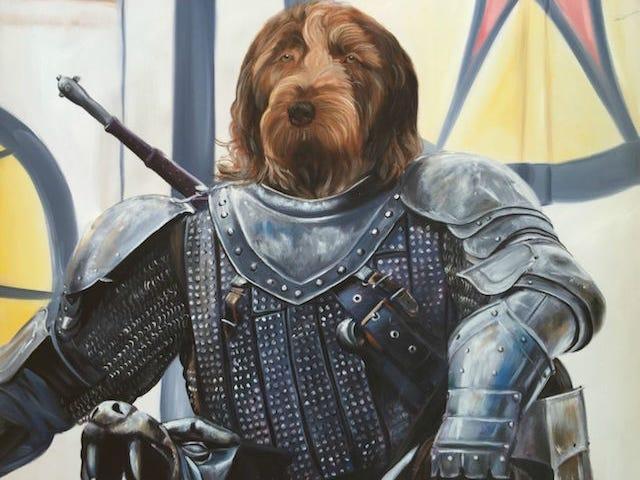 Disse kunstnere malet folks kæledyr som Game Of Thrones karakterer