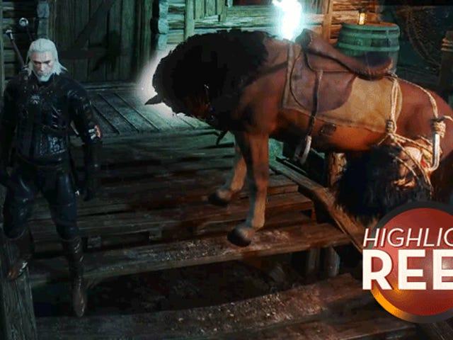 <i>Witcher</i> Horse ay Nakatago Bilang Impiyerno