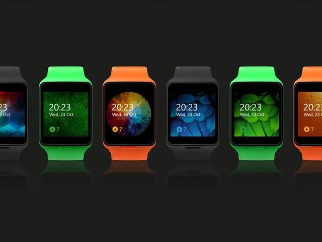 Đây là Đồng hồ thông minh của Microsoft Bạn sẽ không bao giờ có thể mua