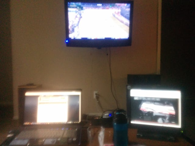 LeMans setup. How are you all watching?