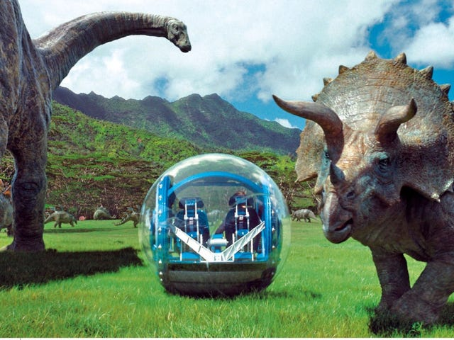 """The Secret Meaning Of <i>Jurassic World</i>: """"Hey, Let's All Fall In Love"""""""