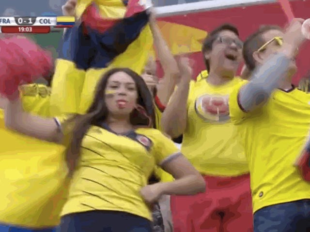Holy Shit, Colombia เอาชนะฝรั่งเศส!