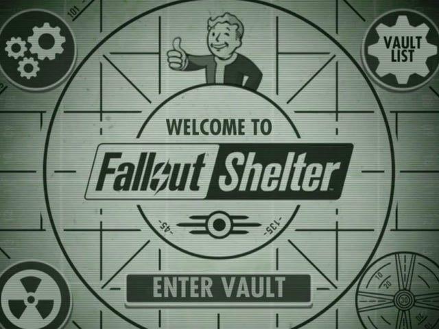 <i>Fallout Shelter</i> घोषणा की, आज रात से बाहर