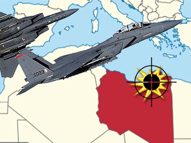 "USAF F-15Es Strike At ""Marlboro Man"" Terror Kingpin In Eastern Libya"