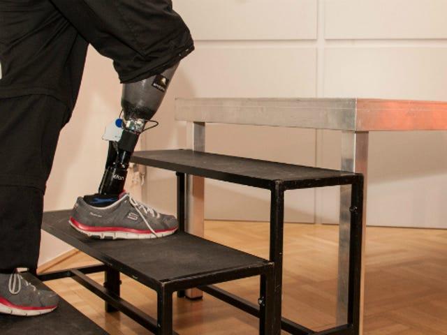 Εδώ είναι το πρώτο τεχνητό πόδι που μπορεί να Feel