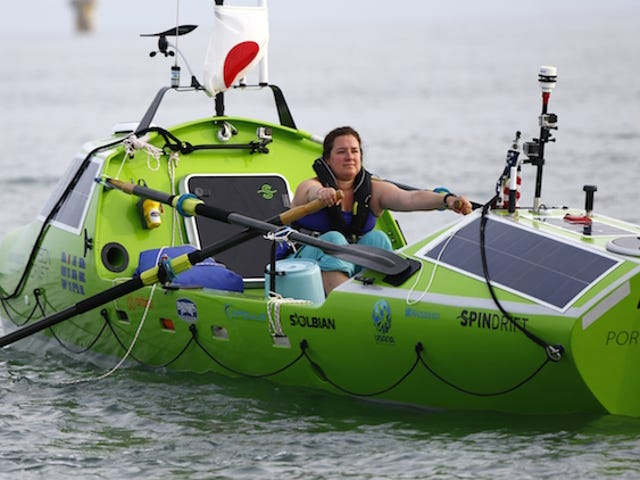 Woman Attempts to Row Pacific Ocean, Is Rescued Off Coast of Japan