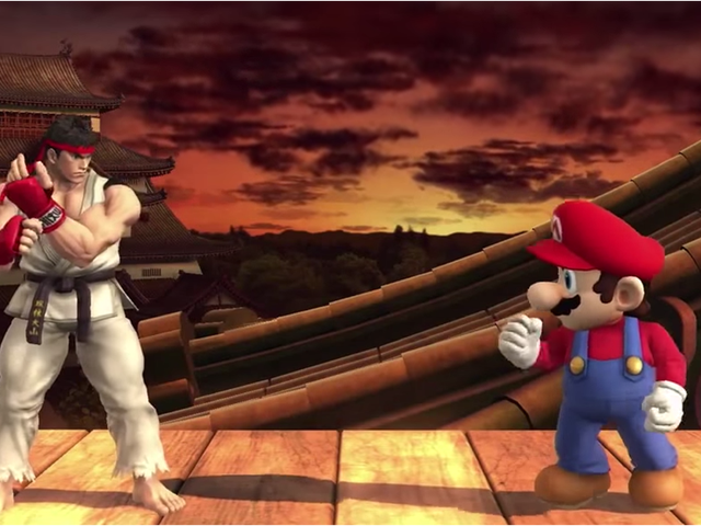Confirmado: Ryu, de <i>Street Fighter</i>, llega a <i>Super Smash Bros.</i>