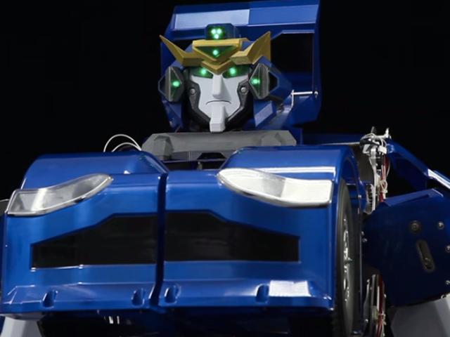 Ten humanoidalny robot, który przekształca się w samochód, faktycznie jest zbudowany