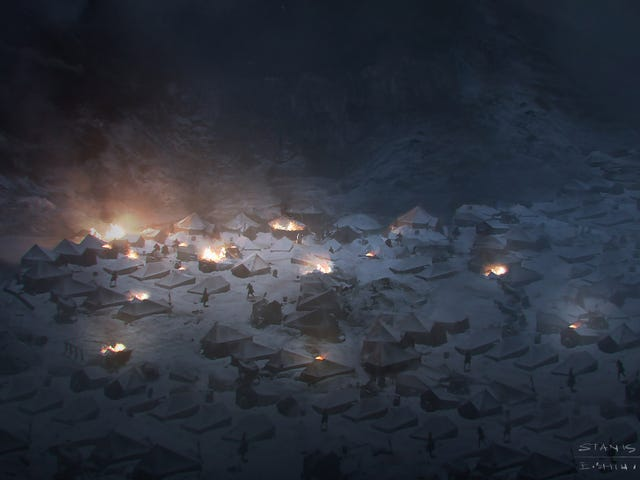 Concept Art Of The Most Amazing Image From Last Night's Game Of Thrones