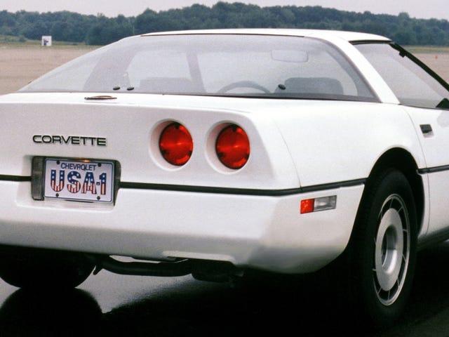 Voisitko päivittäin ajaa C4 Corvette'n nyt, kun he ovat likaisia?