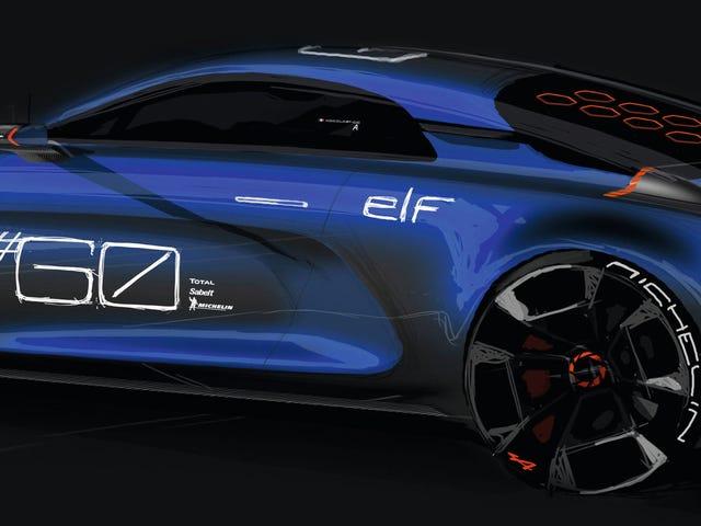 El concepto de celebración alpina de Renault es súper hermoso