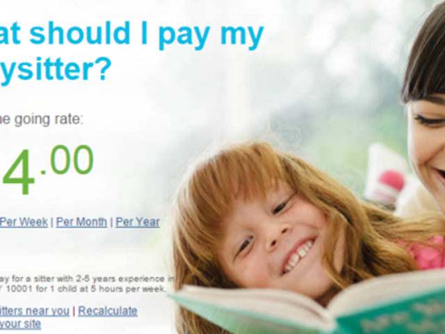 Dieser Rechner zeigt, wie viel Sie Ihrem Babysitter bezahlen sollten