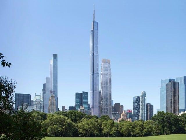 Torre Sneaky Nordstrom acrescenta 71 pés para ser o edifício mais alto dos EUA