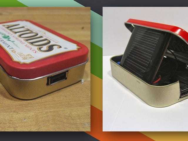 Denne DIY Altoids Tin Solar Charger Holder Dine Gadgets Juiced Up