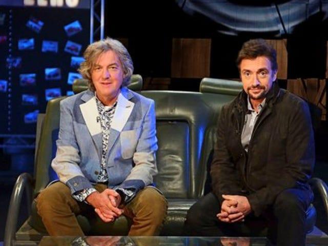 Νέος οικοδεσπότης Top Gear : Μάιος και ο Hammond σκέφτηκαν για την επιστροφή