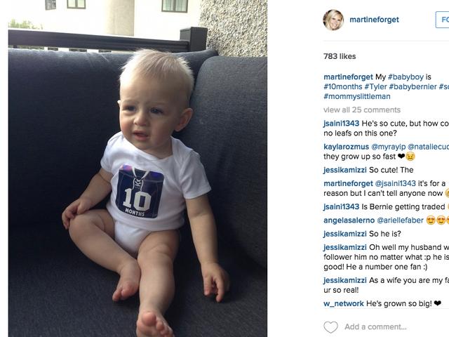 Jonathan Bernier pourrait quitter Toronto si vous croyez que son bébé