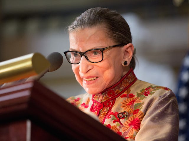 Ruth Bader Ginsburg Wins SCOTUS Popularity Contest, Obviously