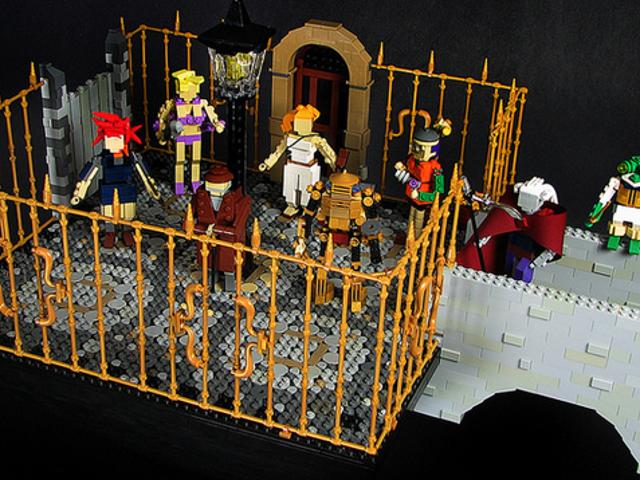 LEGO 형식의 <i>Chrono Trigger</i> 문자
