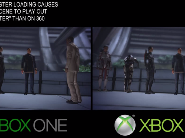 <i>Mass Effect 1</i>在Xbox One上运行更快,更顺畅