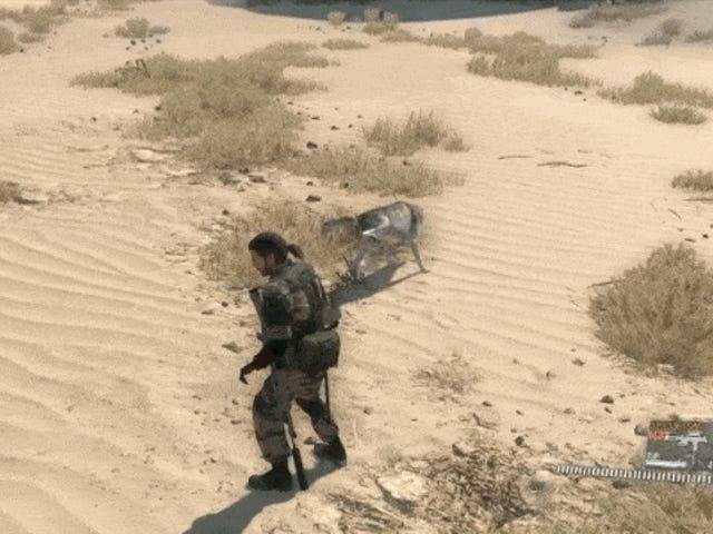 Metal Gear Solid V Hunde er nyttige og Hilarious