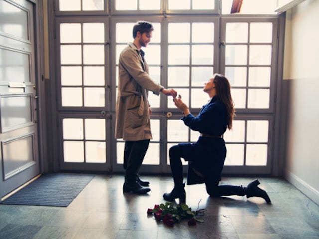 When Women Propose, This Is How It's Done