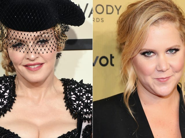 Amy Schumer Will Open For Madonna's Rebel Heart Tour in New York