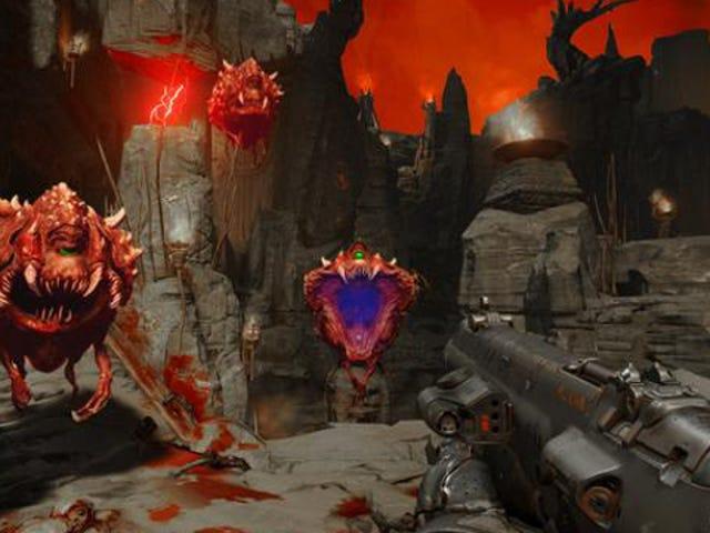 Los fanáticos están &#39;arreglando&#39; los nuevos colores de <i>Doom</i> , la velocidad