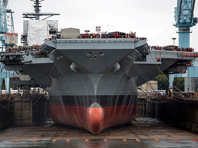 The Pentagon's 'Concurrency Myth' Is Now Available In Supercarrier Size