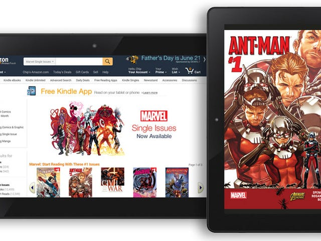 There Are Now Over 12,000 Marvel Comics on the Kindle Store