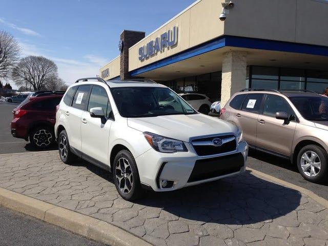 Subaru Forester XT (SJ)