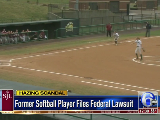 Suit: Second Former St. Joseph's Softball Player Says She Was Hazed