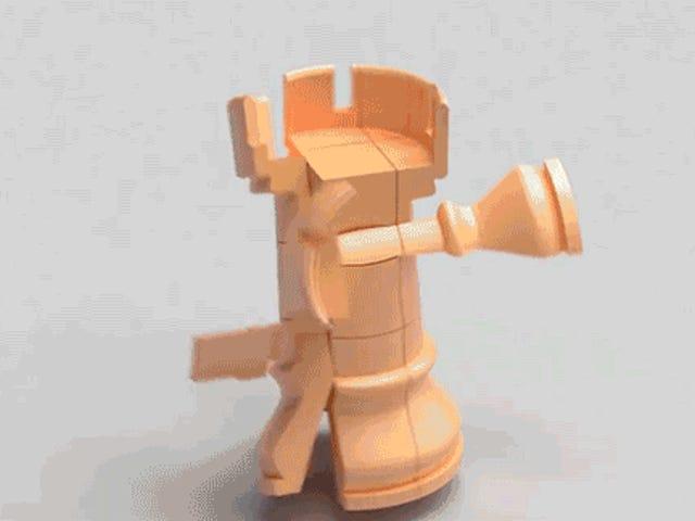 Phần mềm mới này biến bất kỳ đối tượng nào thành câu đố khối Rubik