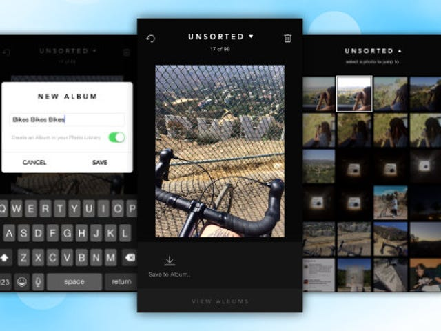 Slidebox Quickly Organizes iOS Photos Into Albums