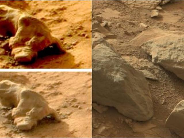 Pirámides, huesos y otros inventos que no, no hemos encontrado en Marte