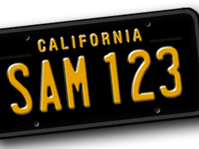 Car Guy Politician And Californians Make Retro License Plates Happen